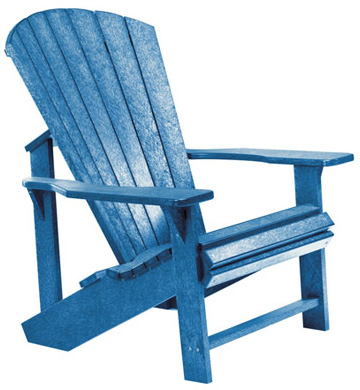 Adirondack Chair, Blue