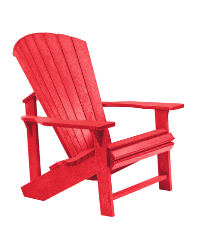 Adirondack Chair, Red