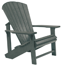 Adirondack Chair,Slate Grey