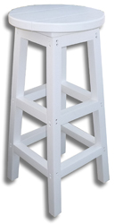 Bar Stool, White