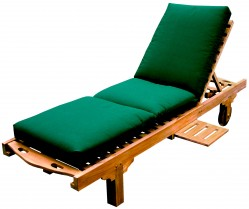 Sun Lounger with Sunbrella Cushion